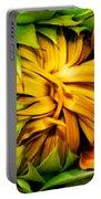 Sunflower Volunteer Portable Battery Charger