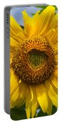 Sunflower With Butterfly Portable Battery Charger