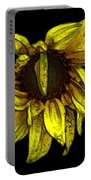 Sunflower With Contours Effect Portable Battery Charger