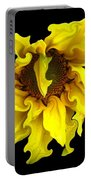 Sunflower With Curlicues Effect Portable Battery Charger