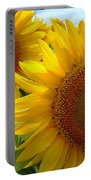 Sunflowers #1 Portable Battery Charger