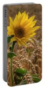 Sunflowers At Corny Portable Battery Charger