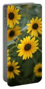 Sunflowers Bloom Portable Battery Charger