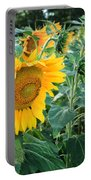 Sunflowers For Wishes Portable Battery Charger