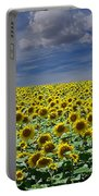 Sunflowers Forever Portable Battery Charger