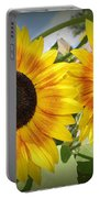 Sunflowers In Full Bloom Portable Battery Charger