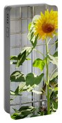 Sunflowers In The Window Portable Battery Charger