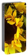 Sunflowers Wide Portable Battery Charger