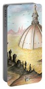 Sunken City - Surrealistic Art Portable Battery Charger