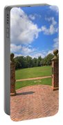 Sunken Garden At William And Mary Portable Battery Charger