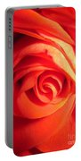 Sunkissed Orange Rose 11 Portable Battery Charger