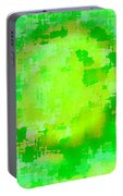 Original Abstract Art Painting Sunlight In The Trees  Portable Battery Charger