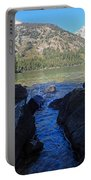 Sunlight On Lake Jenny Portable Battery Charger