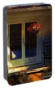 Sunlight On Scarlet - New England Autumn Portable Battery Charger