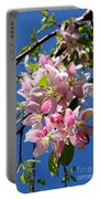 Sunlight On Spring Blossoms Portable Battery Charger