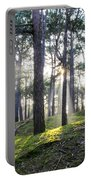 Sunlit Trees Portable Battery Charger