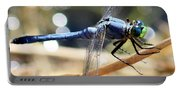 Sunning Blue Dragonfly Square Portable Battery Charger