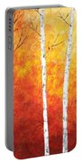 Sunset Birches Portable Battery Charger
