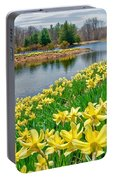 Sunny Daffodil Portable Battery Charger