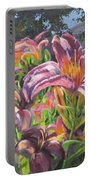 Sunny Daylilly Portable Battery Charger