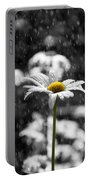 Sunny Disposition Despite Showers Portable Battery Charger