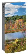 Sunny Fall Day Portable Battery Charger