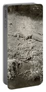 Sunny Gator Sepia  Portable Battery Charger