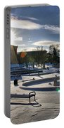 Sunny In The Snow Portable Battery Charger