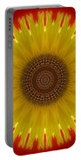 Sunny Kaleidoscope Portable Battery Charger
