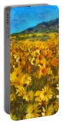 Sunny Meadow Portable Battery Charger