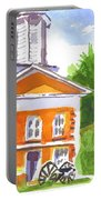 Sunny Morning On The City Square Portable Battery Charger