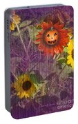 Sunny Pumpkin Portable Battery Charger