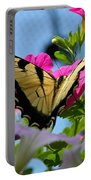 Sunny Tiger Swallowtail  Portable Battery Charger