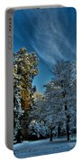 Sunny Winter Day Portable Battery Charger