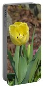 Sunny Yellow Tulips Series  Picture C Portable Battery Charger