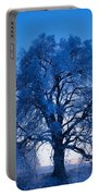 Sunrise And Tree Portable Battery Charger