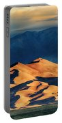 Sunrise At Great Sand Dunes Portable Battery Charger