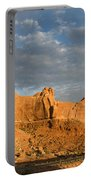 Sunrise At La Sal Mountians Portable Battery Charger