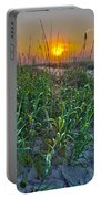 Sunrise At Myrtle Beach Portable Battery Charger
