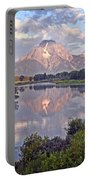 Sunrise At Oxbow Bend 4 Portable Battery Charger