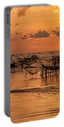Sunrise At The Fishing Village Portable Battery Charger