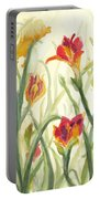 Sunrise Flowers Portable Battery Charger