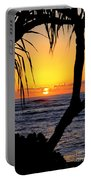 Sunrise Fuji Beach Kauai Portable Battery Charger