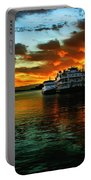 Sunrise In San Francisco Portable Battery Charger