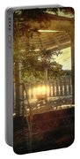 Sunrise In The Gazebo Portable Battery Charger