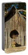 Sunrise On Birdhouse Homestead Portable Battery Charger