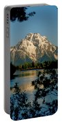 Sunrise On Mount Moran Portable Battery Charger