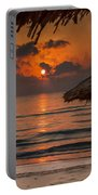 Sunrise On The Beach Portable Battery Charger
