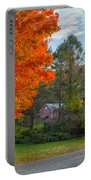 Sunrise On The Farm Portable Battery Charger