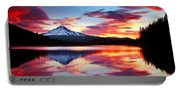 Sunrise On The Lake Portable Battery Charger